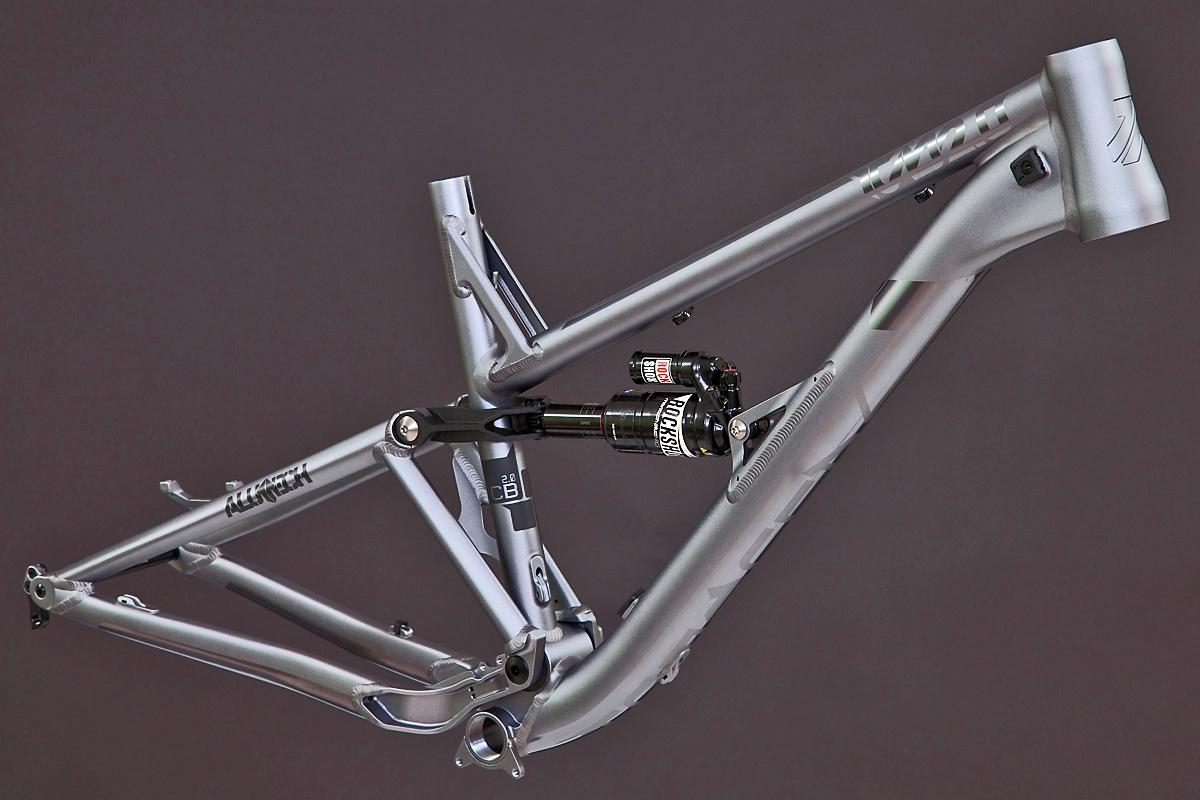 ce399a97d52 Alutech ICB 2.0 frame kit titanium-anodized, 1.199,00 €