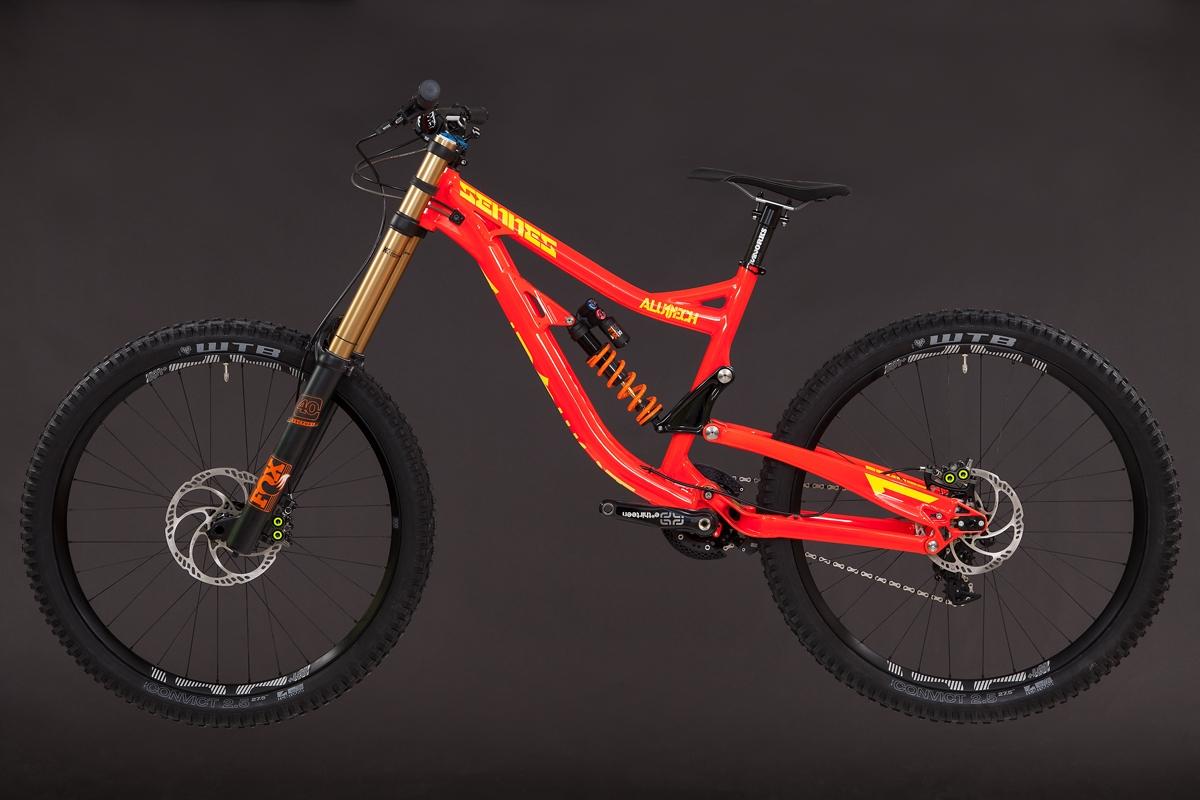 Sennes DH 2.0 RaceReady downhill bike 27,5\