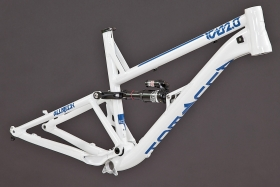 Alutech ICB 2.0 framekit white powdercoated