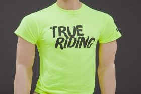 Alutech T-Shirt True Riding neongelb