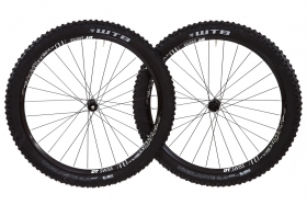 DT Swiss wheelset with WTB tires