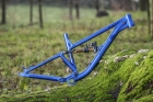 Alutech ICB 2.0 frame kit blue-anodized