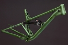 Alutech ICB 2.0 frame kit green-anodized