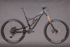 Fanes 5.0 enduro bike 27,5 size M black