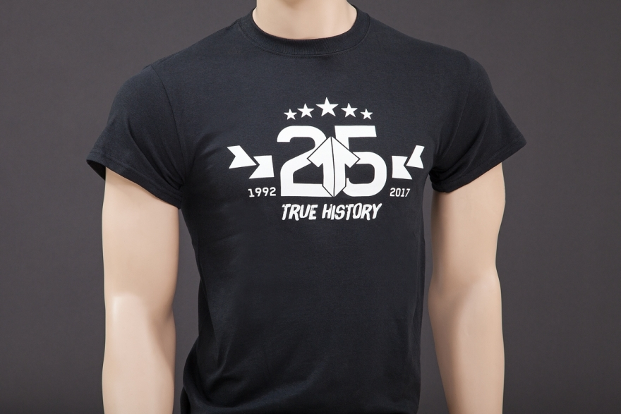 Alutech T-Shirt 25years