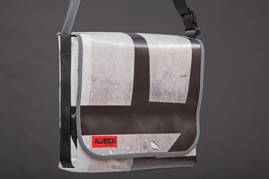 Alutech Upcycling shoulder bag