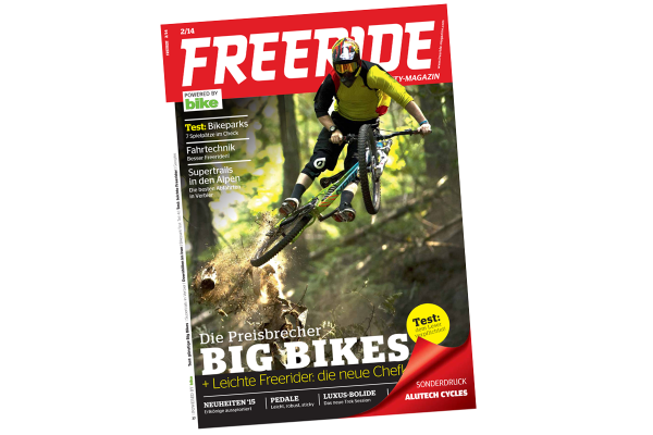 FREERIDE Sonderdruck Alutech Cycles