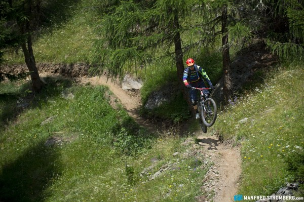 Opening of 3-Länder Enduro Trails, Reschenpass, Austria, 19th July, 2015. Free image for editorial usage only: Photo by Manfred Stromberg