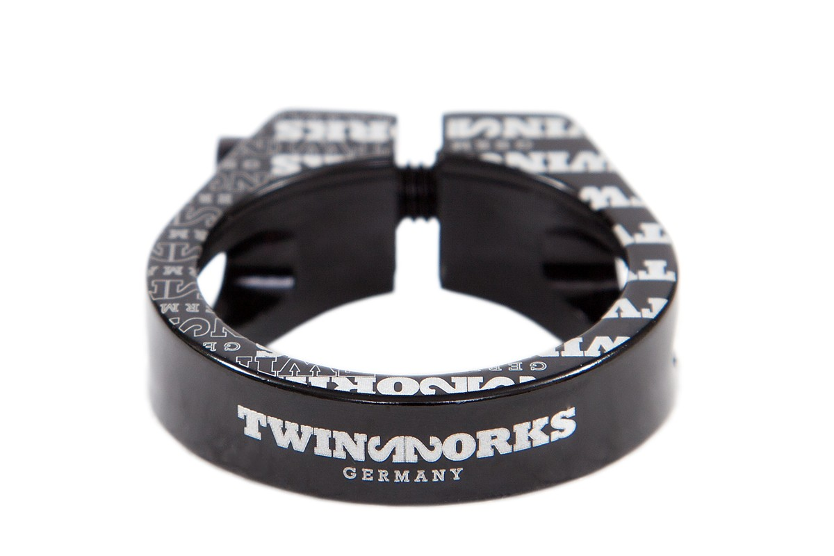 TwinWorks CNC hex seat clamp 31,8mm